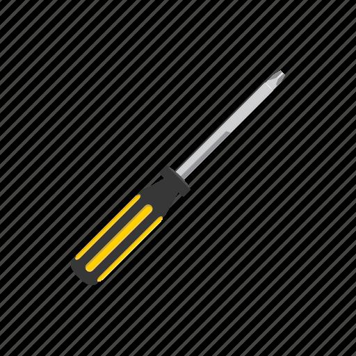cartoon, industry, repair, screwdriver, service, tool, work icon
