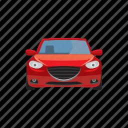 automobile, automotive, car, cartoon, transport, transportation, vehicle icon