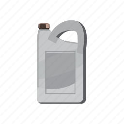 can, cartoon, container, gasoline, jerrycan, oil, plastic icon