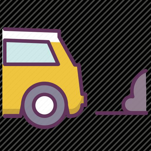 auto, automobile, car, carexhaust, pollution, service icon