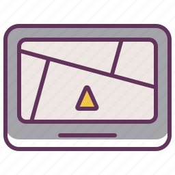 device, gps, location, map, navigate, navigation, travel icon