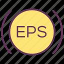 alarm, eps, service, sign, signal, warning icon