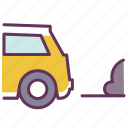 auto, automobile, car, carexhaust, pollution, service icon