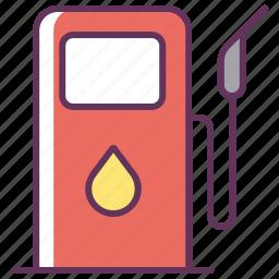 fuel, gas, gasoline, service, station icon