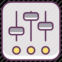 car, control, fix, radio, service, settings, setup icon