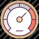 car, gauge, odometer, service, speed, speedometer, tool icon