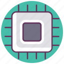chip, components, cpu, electronics, hardware, partsprocessor icon