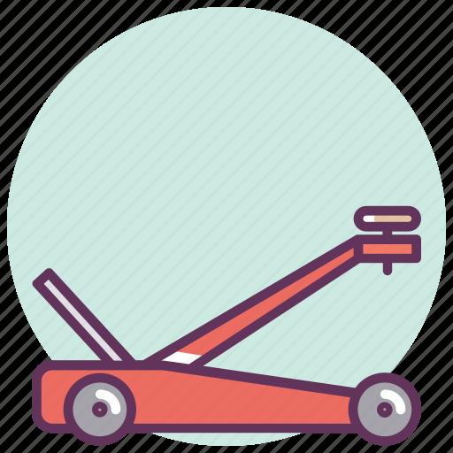 car, garage, hoist, lift, mechanican, repair, service icon