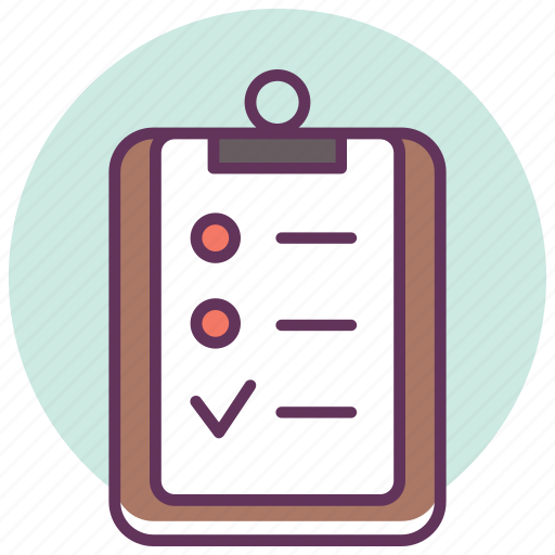 board, checklist, pad, problme, report, service, tasks icon