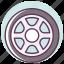 automotive, car, race, service, tire, tool, wheel icon
