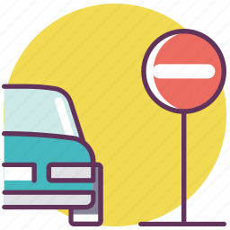 control, danger, pause, road signs, sign, stop, stop sing icon