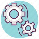 car, cogwheel, gearshift, service, settings, tool icon