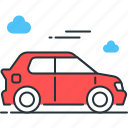 auto, automobile, car, driving, transport, transportation, vehicle icon