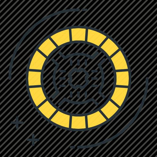 auto part, clutch, disc, spare part, transmission icon