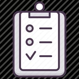 board, checklist, pad, problme, report, servive, tasks icon
