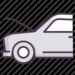 auto, car, hood, servive, up.fix icon