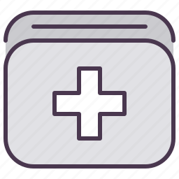 aid, car, first, kit, medical, servive icon
