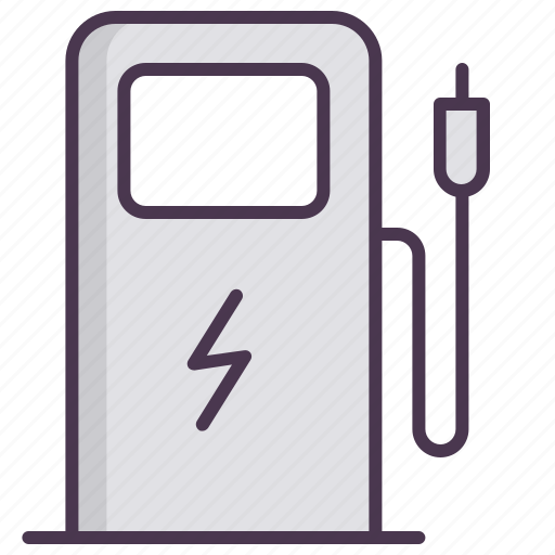car, charge, charging, electromobile, servive, station icon