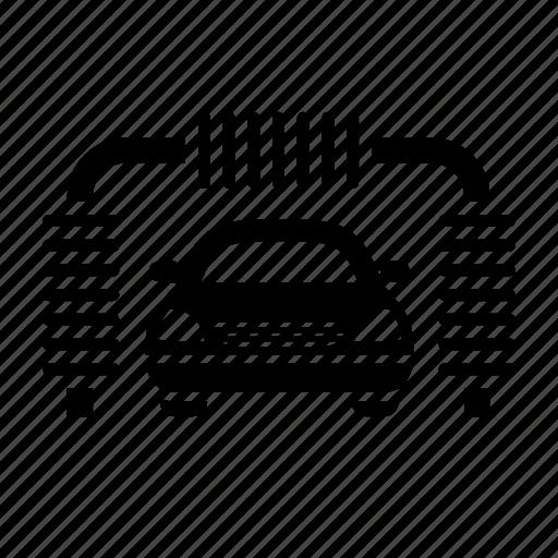 car services, car wash, roadside services icon