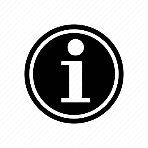 data info, help info, information icon
