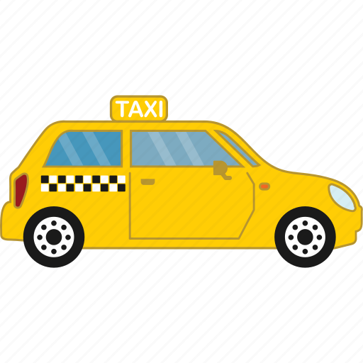 car, road, taxi, transport, vehicle icon