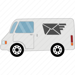 car, delivery, road, transport, travel, vehicle icon