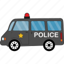 car, police, roda, transport, vehicle icon