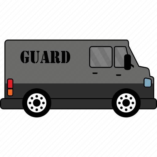 car, guard, road, transport, vehicle icon