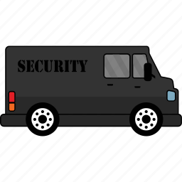 car, road, security, transport, vehicle icon
