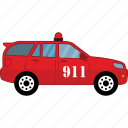 car, emergency, road, transport, vehicle icon