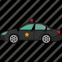 car, police, transport, vehicle, road