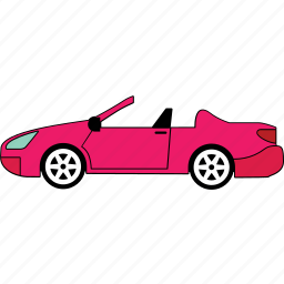 car, convertible, road, transport, van, vehicle icon