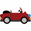 car, convertible, road, transport, vehicle icon