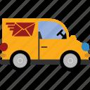 car, transport, van, vehicle, delivery