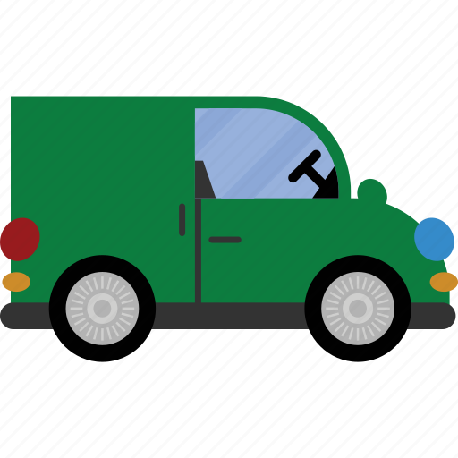car, delivery, transport, van, vehicle icon