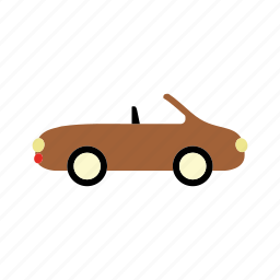 car, convertible, transport, transportation, vehicle icon