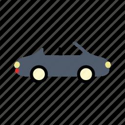 car, convertible, transport, transportation, vehicle icon