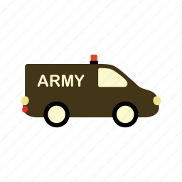 army, car, transport, transportation, vehicle icon