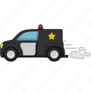 car, road, transport, vehicle, police