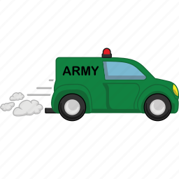 army, car, transport, transportation, vehicle icon