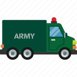 army, car, road, transport, vehicle icon
