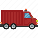 car, delivery, road, transport, truck icon