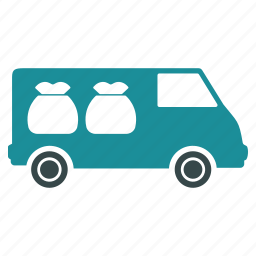auto, automobile, bank, car, collector, transportation, vehicle icon