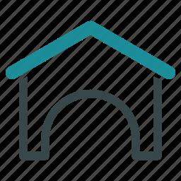building, construction, depot, garage, hangar, storage, warehouse icon
