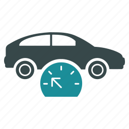 car, diagnostic, measure, meter, speed, test, testing icon