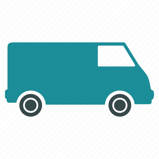 auto, car, deliver, delivery, transport, transportation, van icon