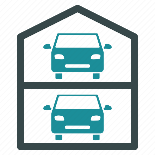 auto, automobile, car, garage, parking, transport, vehicle icon