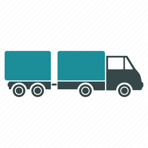 car, delivery, logistic, trailer, transport, transportation, truck icon