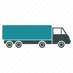 cargo, delivery, shipping, tractor trailor, truck, wagon icon