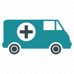 alert, ambulance, emergency car, hospital transport, medical help, medicine, transportation icon